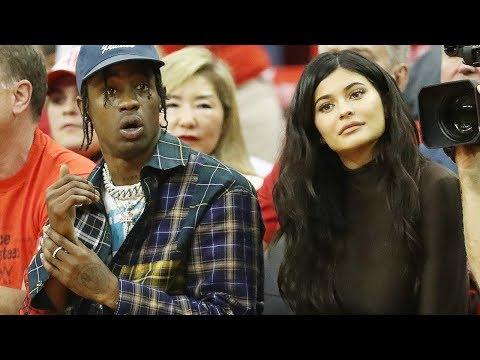 Kylie Jenner & Travis Scott Show Support For Khloe Kardashian's EX!