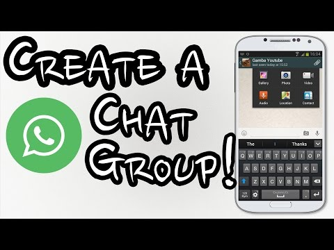 How to create a chat group on Whatsapp - Step by Step