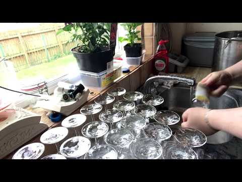 Beer glass cleaning. How do you clean yours?