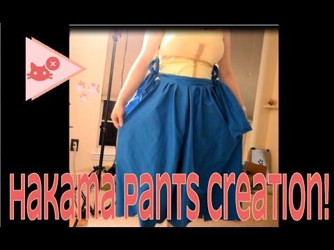Hakama Skirt Time Lapse [Hyperlapse???]