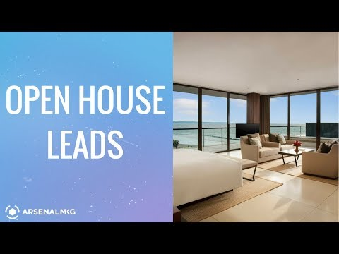 How To Generate Real Estate Open House Leads For New Agents - Lead Generation For Tips For Realtors