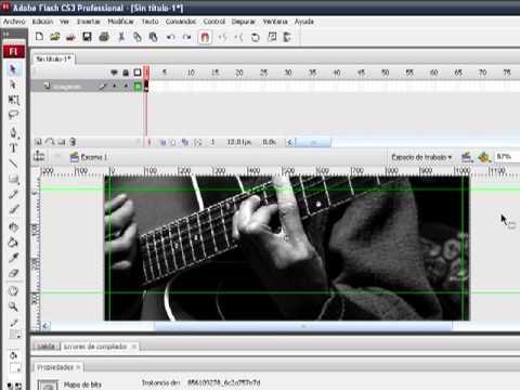 Como Crear un banner básico para una pagina web en Flash CS3