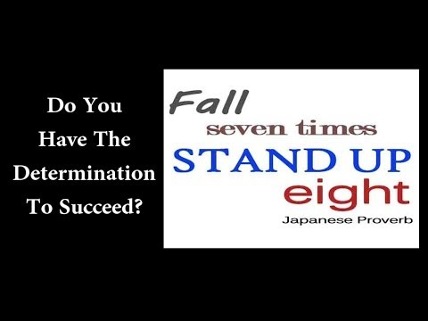 Do You Have The Determination To Succeed?