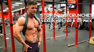 STOP DOING CRUNCHES | 5 Exercises For A Six Pack | Ep. 06