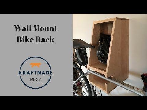 Wall Mount Bike Rack - Kraftmade