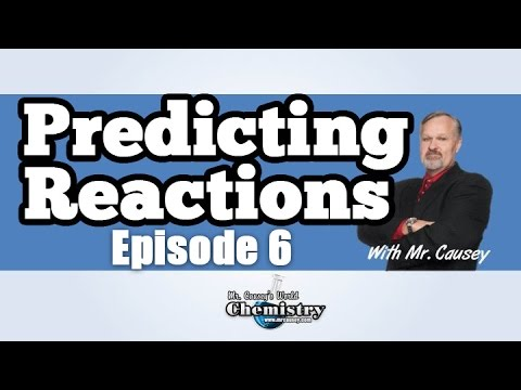 Predicting Products in Reactions - AP Chemistry Episode #6