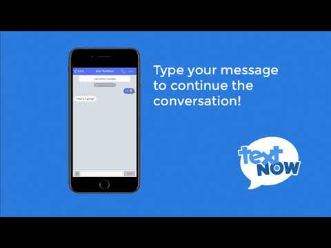 How to Text with TextNow   iOS