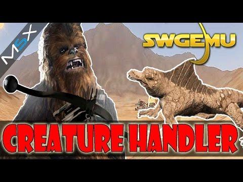 Star Wars Galaxies  -SWGEMU  -PreCU  -Creature Handler Progress