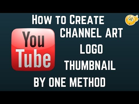 How to Create/Design All YouTube Graphics in One Method (Channel art,Logo,Thumbnail etc) For Free