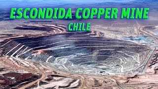 The Giant Holes:  Escondida copper mine, Chile #Vendora