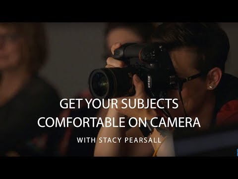 How To Make Someone Feel Comfortable on Camera | CreativeLive