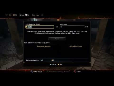 Neverwinter: Xbox one How to make fast astral diamonds and zen coins