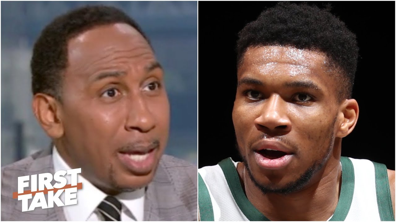 Stephen A. roasts Giannis and the Bucks, calls Game 2 a 'national embarrassment'   First Take