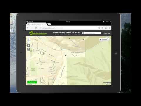 Universal Map Viewer for ArcGIS