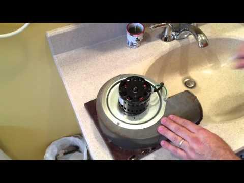 How to Repair a Noisy Bathroom Exhaust Fan