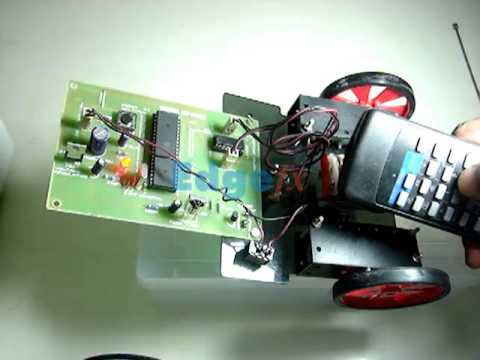 IR Controlled Robotic Vehicle | Simple Robotics Projects | Robotic Kits