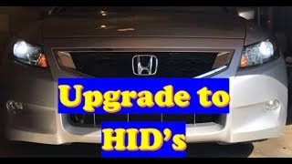 2008 Accord Coupe Hid Installation Part 22