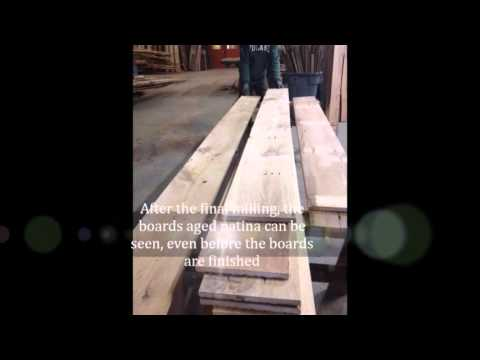 how it's made   Barnstormers Reclaimed Wood Flooring