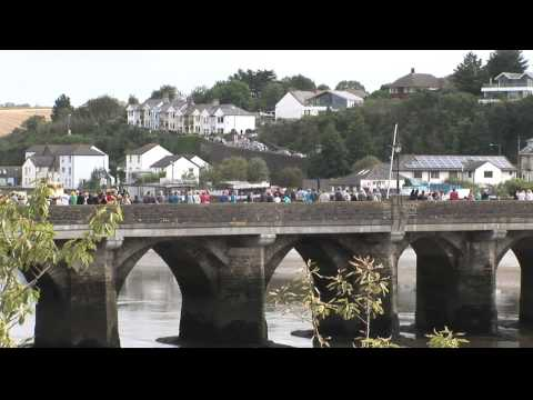 The Tour of Britain, Stage 7, Bideford