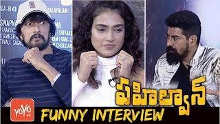 Pehlwaan Movie Team Exclusive Interview | Kiccha Sudeep | Akanksha Singh | YOYO TV Channel