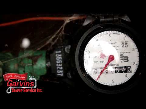 Garvin's - How to check the water meter for a water leak