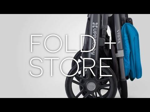 UPPAbby VISTA Stroller - Fold + Store