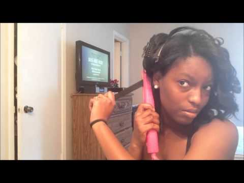 How To: Tight Curls with a flat iron