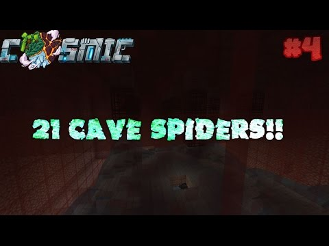 Cave Spider Grinder Setup!! [Cosmicpvp Ice Factions]