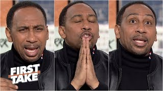 Stephen A. unleashes an epic rant about Steph Curry, Klay Thompson & the Warriors | First Take