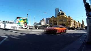 Timelapse - Melbourne, Australia - Intersection corner of King and La Trobe streets