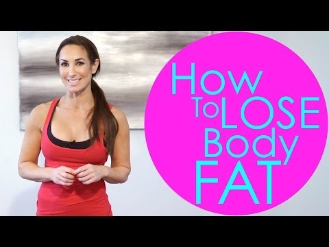 How to Lose Body Fat | Natalie Jill