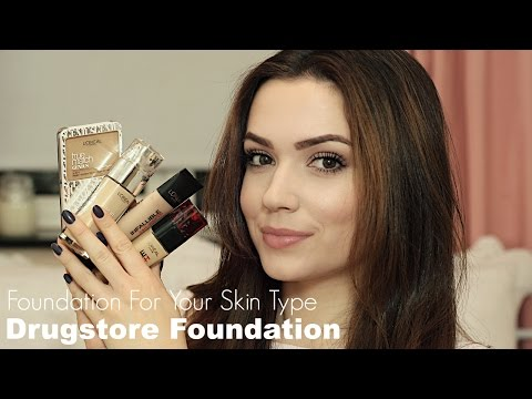 Foundation For Your Skin Type | Drugstore Favourites | Chapter 3