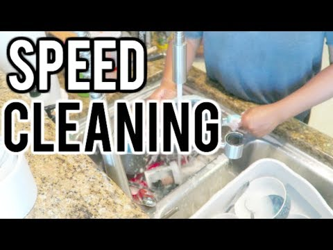 SPEED CLEANING| CLEAN WITH ME| CLEANING MOTIVATION!