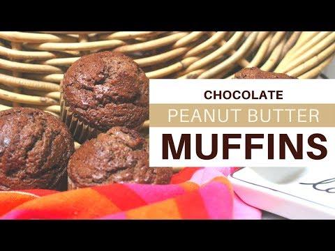 MUFFINS   CHOCOLATE & PEANUT BUTTER   KETO   4 NET CARBS   #ketogenicdiet   #almondflourrecipe