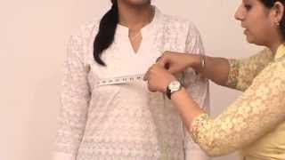 How To Take Body Measurements For Women S Ethnic Wear