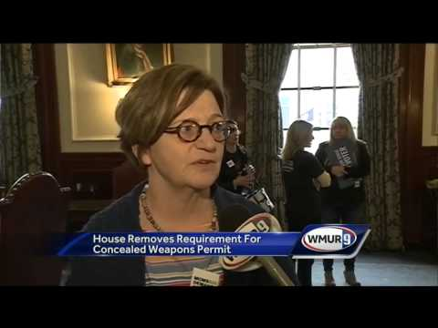 Governor says she'll veto repeal of concealed weapon permit law