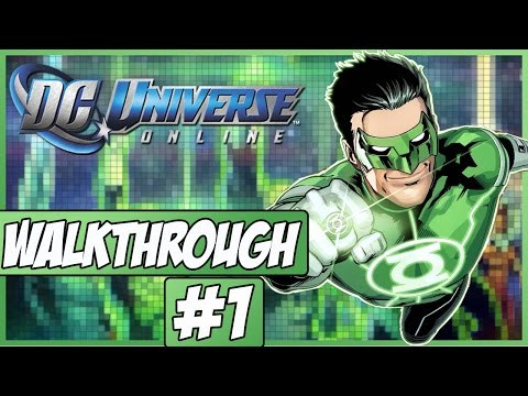 DC Universe Online Walkthrough - Episode 1 - Character Creation!