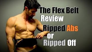 Ripped Abs or Ripped Off   The FLEX BELT Review