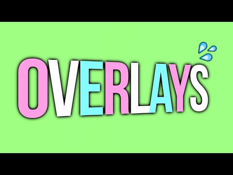 Video star overlays/green screen effects