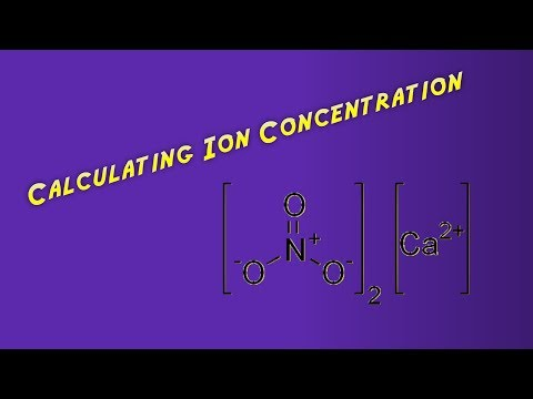 Calculating Ion Concentration in Solution
