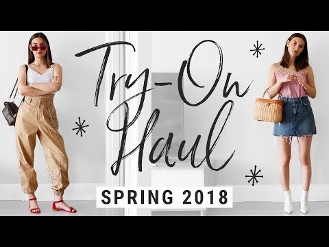 Spring 2018 Haul + How to Style Spring Trends!