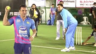 Bollywood Celebs Playing Cricket Full Video - Salman Khan