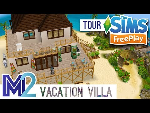 Sims FreePlay - Vacation Villa (Original Design)