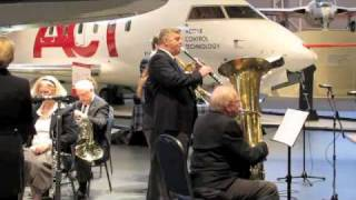 Dixieland Jam from the Centralaires Concert Band performance at the Canadian Aviation and Space Museum, February 13, 2011.