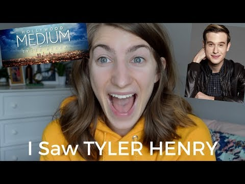I saw TYLER HENRY LIVE | The Hollywood Medium