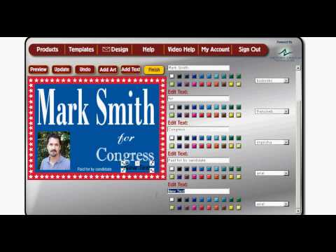 How to Design Your Own Yard Signs and Campaign Signs
