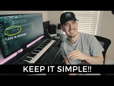 KEEP IT SIMPLE!! | Making a Beat FL Studio 12