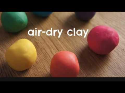 DIY- Homemade Clay | Enjoy Crafting # 52