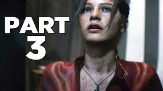 RESIDENT EVIL 2 REMAKE Walkthrough Gameplay Part 3 - SHERRY BIRKIN (RE2 CLAIRE)