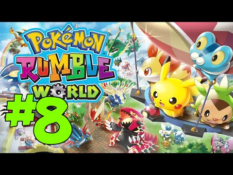 Let's Play: Pokemon Rumble World Part 8